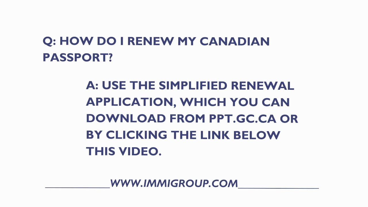 how to get a canadian passport application