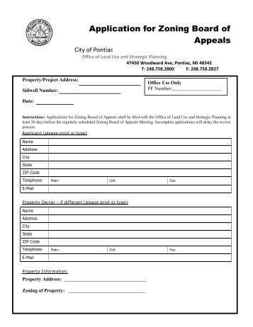 city of mississauga zoning applications