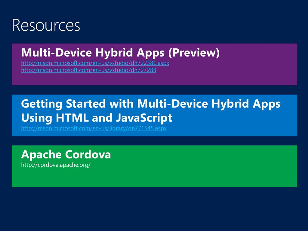 hybrid applications can be downloaded from