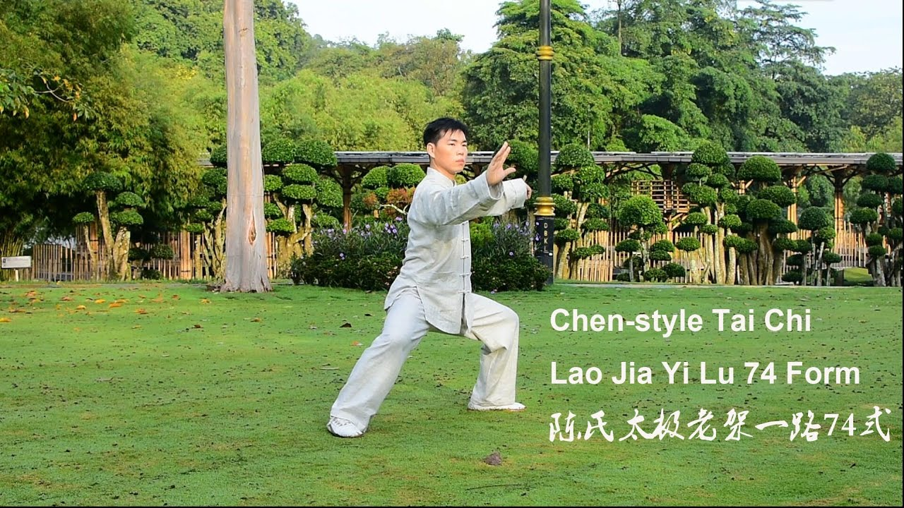 tai chi application in chen old frame routine one